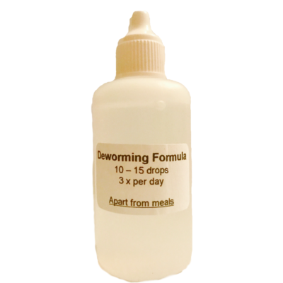Homeopathic Deworming Formula