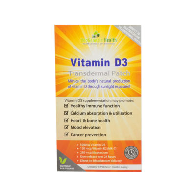 Vitamin D3 Transdermal Patches